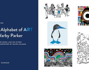 The Alphabet of Art at Warby Parker Celebrates the Brand's 11th Birthday