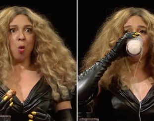 watch-snls-beyonce-hot-ones-skit-with-maya-rudolph-video
