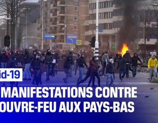 covid-19-violentes-contestations-aux-pays-bas-contre-le-couvre-feu