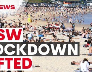 australian-covid-update-nsw-lockdown-lifts-international-border-set-to-reopen-7news