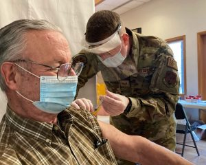 National Guard urges U.S. to follow health measures as military races to vaccinate population