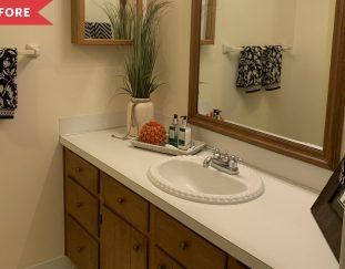 budget-bathroom-redo-faux-wallpaper-bathroom-redo-idea