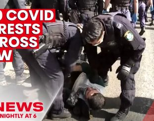 nsw-police-arrest-250-people-for-breaching-covid-19-laws-attempting-to-protest-7news