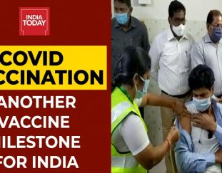 india-administers-over-1-crore-covid-vaccine-shots-for-second-time-breaking-news